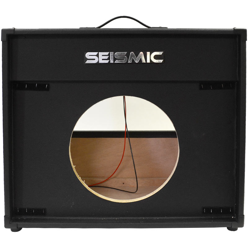 seismic audio 1x12 guitar speaker cab empty 12 cabinet vintage new ebay. Black Bedroom Furniture Sets. Home Design Ideas
