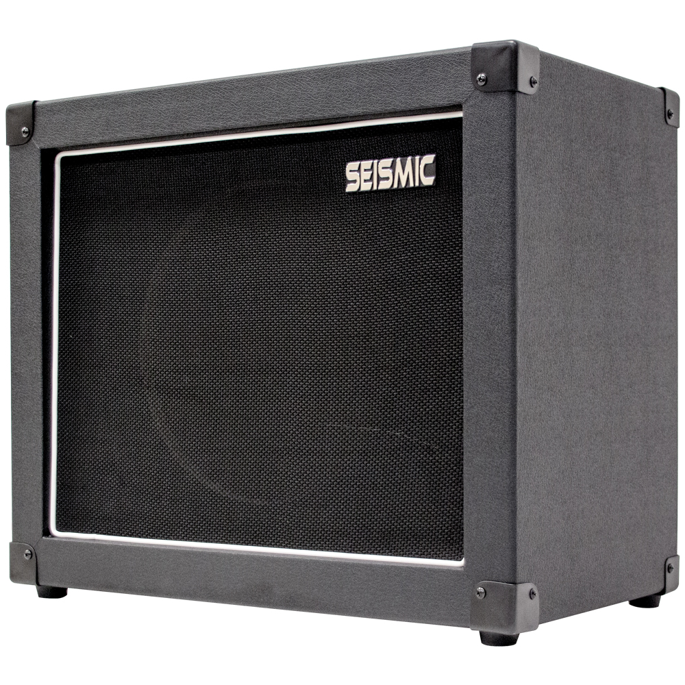 seismic audio 12 guitar speaker cabinet empty 1x12 cab black tolex ebay. Black Bedroom Furniture Sets. Home Design Ideas
