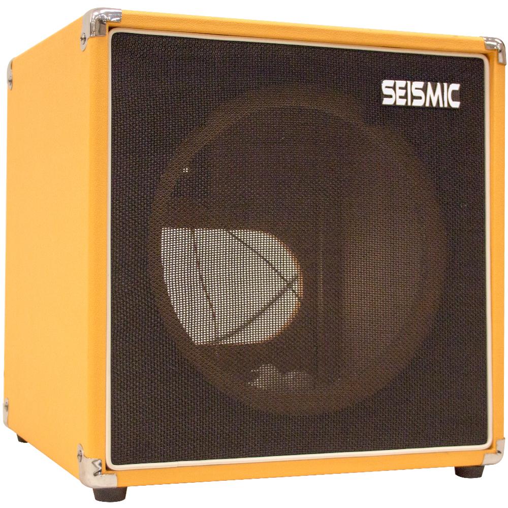 seismic audio 1x12 guitar speaker cab empty cube cabinet orange tolex ebay. Black Bedroom Furniture Sets. Home Design Ideas
