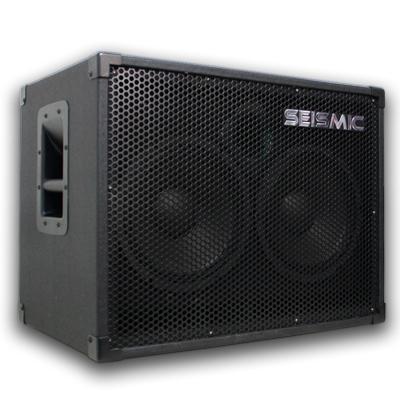 seismic audio new 2x10 bass guitar speaker cabinet 210 8 ohm 400 watt. Black Bedroom Furniture Sets. Home Design Ideas