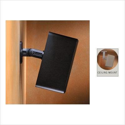 Seismic Audio 5 New Black Ceiling Wall Speaker Brackets