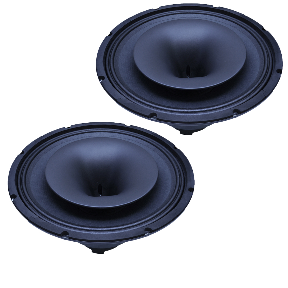 SEISMIC AUDIO - Pair of-12 Inch Coaxial Speaker with Integra