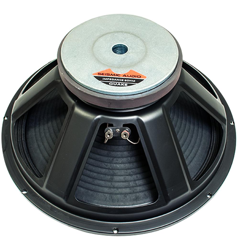 seismic audio 18 pa raw sub woofer speaker loudspeaker ebay. Black Bedroom Furniture Sets. Home Design Ideas