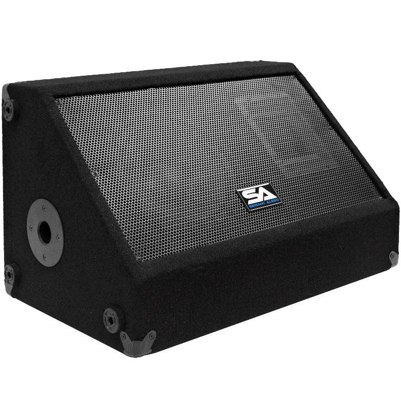 seismic audio floor monitor 10 speaker 300 watts stage ebay. Black Bedroom Furniture Sets. Home Design Ideas