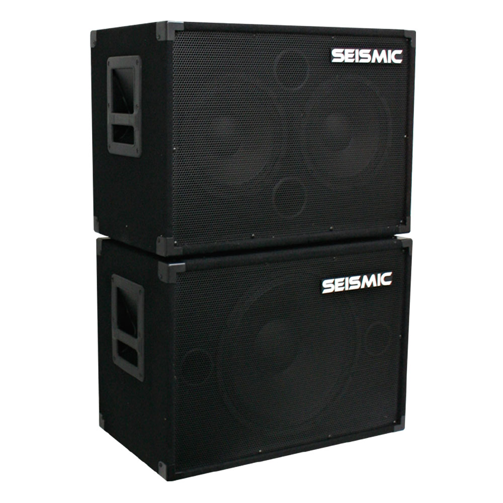 seismic audio new 1x15 2x10 bass guitar speaker cabinets 115 210 ebay. Black Bedroom Furniture Sets. Home Design Ideas