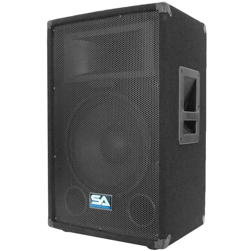 seismic audio pair audio 12 inch pa speakers karaoke concert speaker ebay. Black Bedroom Furniture Sets. Home Design Ideas