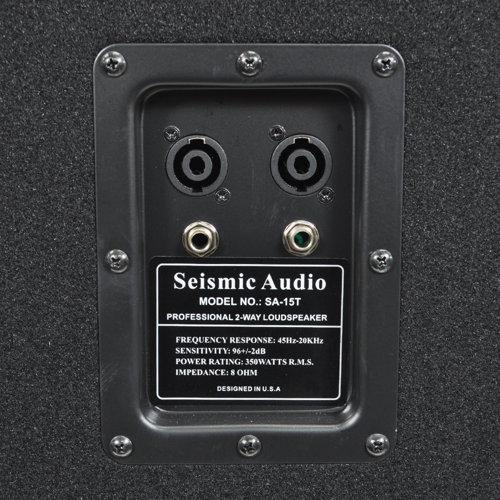 Seismic Audio - Empty 15 Inch PA / DJ / Band Speaker Cabinet with ...
