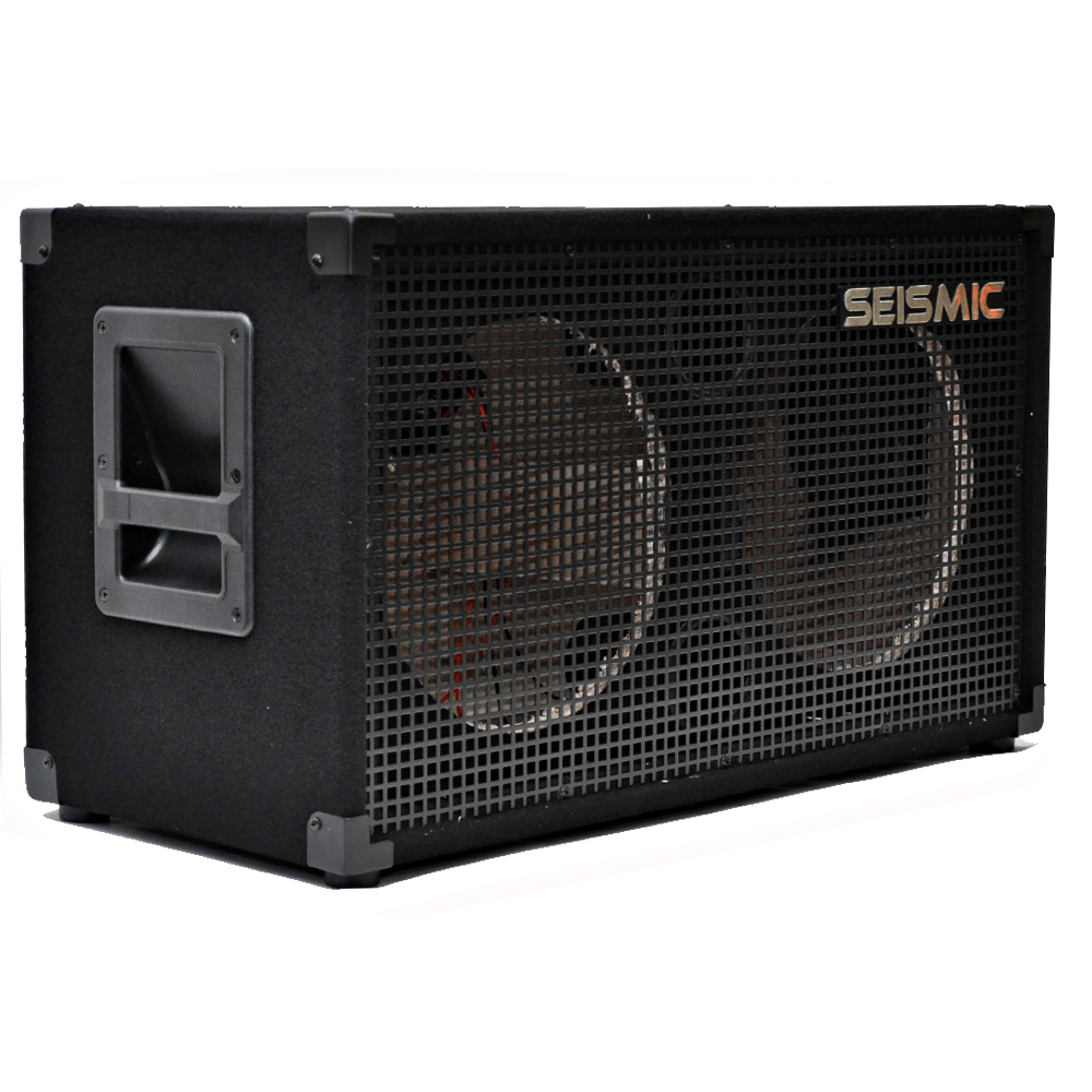 seismic audio 212 empty guitar speaker cabinet 2x12 pro audio cab ebay. Black Bedroom Furniture Sets. Home Design Ideas
