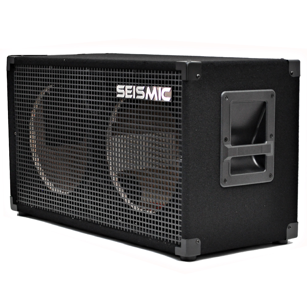 seismic audio 212 empty guitar speaker cabinet 2x12 speakerless cab ebay. Black Bedroom Furniture Sets. Home Design Ideas