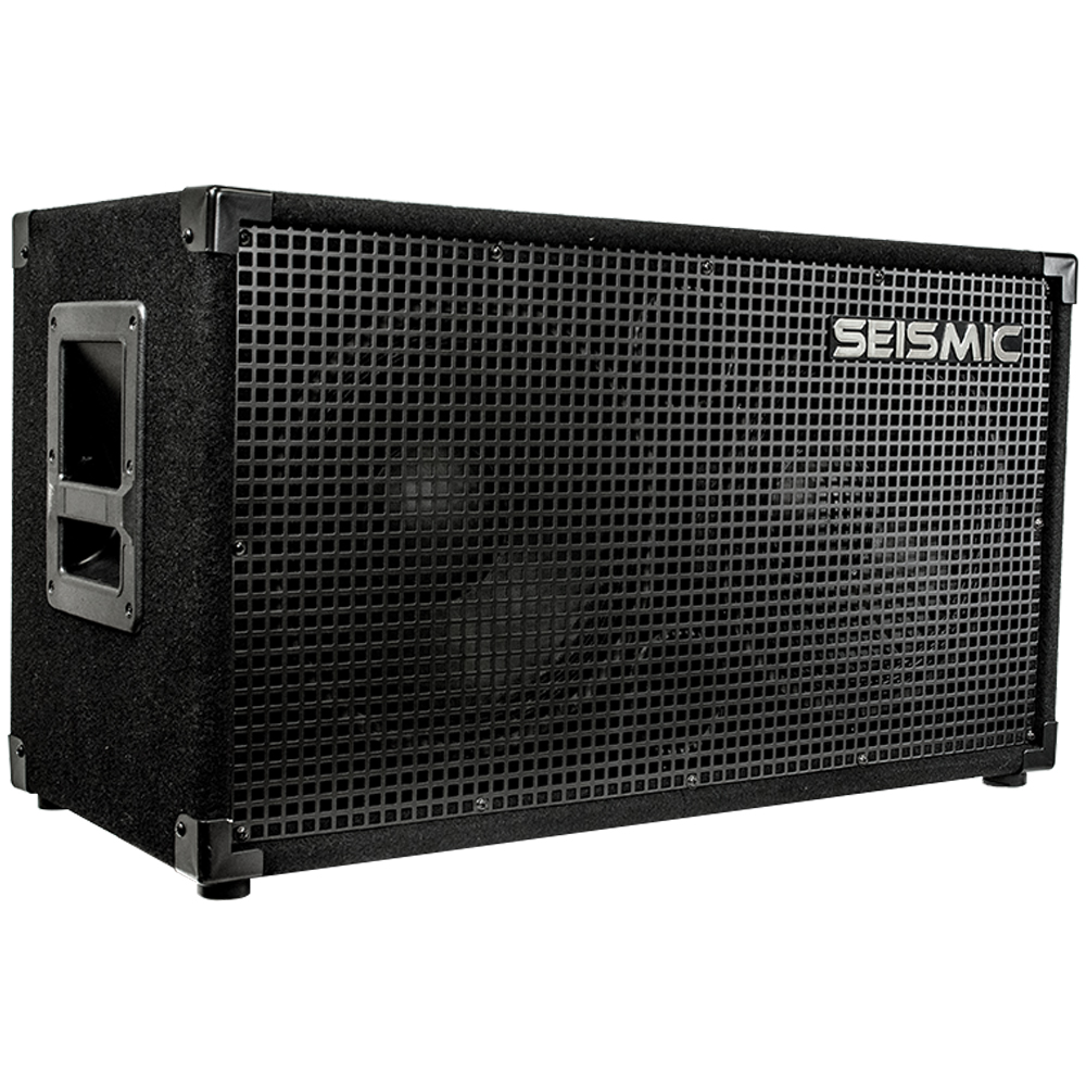 seismic audio 212 guitar speaker cabinet 2x12 160 w pa dj pro audio ebay. Black Bedroom Furniture Sets. Home Design Ideas