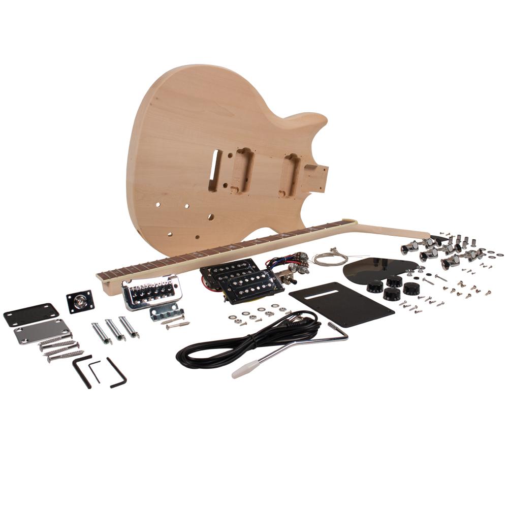 premium prs style diy electric guitar kit unfinished luthier project kit ebay. Black Bedroom Furniture Sets. Home Design Ideas