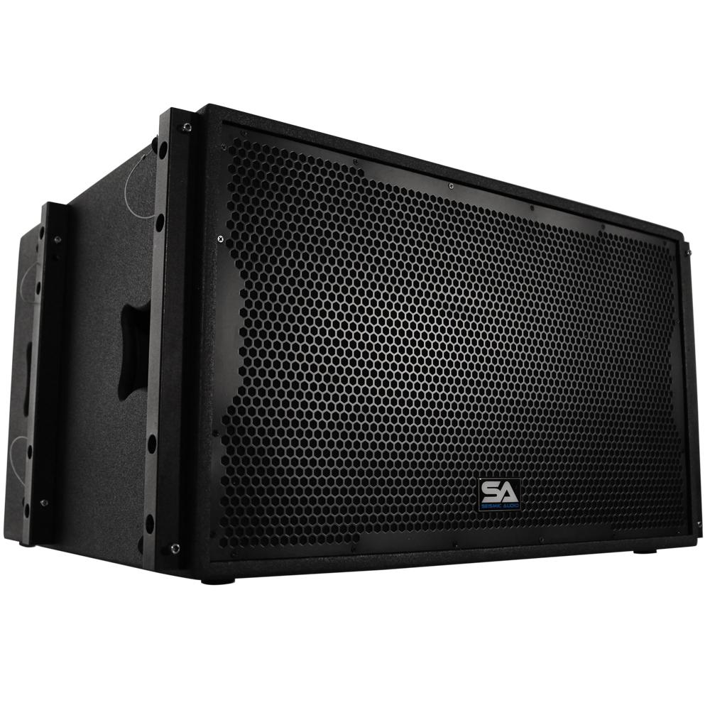 seismic audio premium passive 2x15 line array subwoofer live sound band ebay. Black Bedroom Furniture Sets. Home Design Ideas