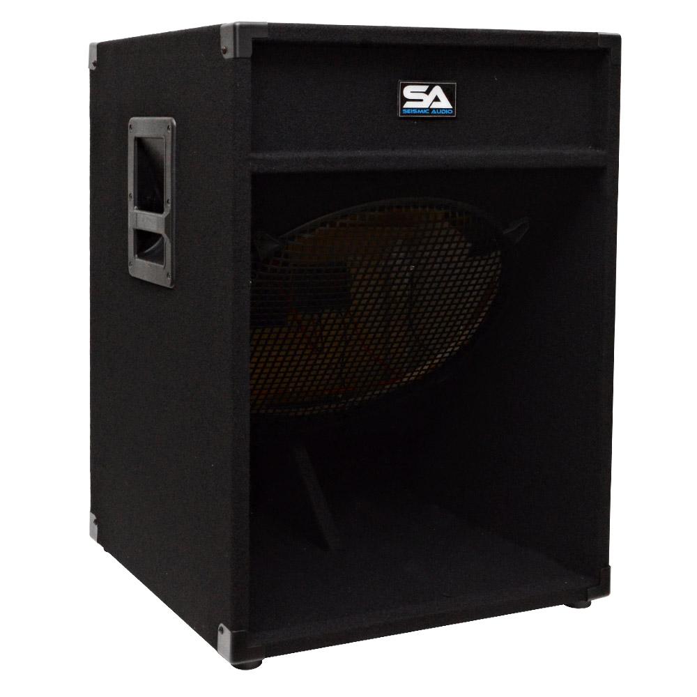 Seismic Audio 18 Inch PA SPEAKER BOX SUBWOOFER Cabinet~NO WOOFERS~Sub  sc 1 st  eBay & Seismic Audio 18 Inch PA SPEAKER BOX SUBWOOFER Cabinet~NO WOOFERS ... Aboutintivar.Com