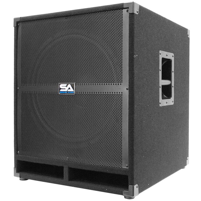seismic audio 18 pa powered subwoofer speaker active ebay. Black Bedroom Furniture Sets. Home Design Ideas