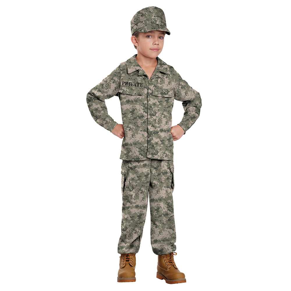 Boys Soldier Military Halloween Costume | eBay