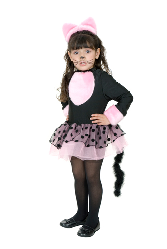 Miss Kitty Girls Black Cat Toddler Costume size 2T-4T Toddler  sc 1 st  eBay & Miss Kitty Girls Black Cat Toddler Costume size 2T-4T Toddler | eBay