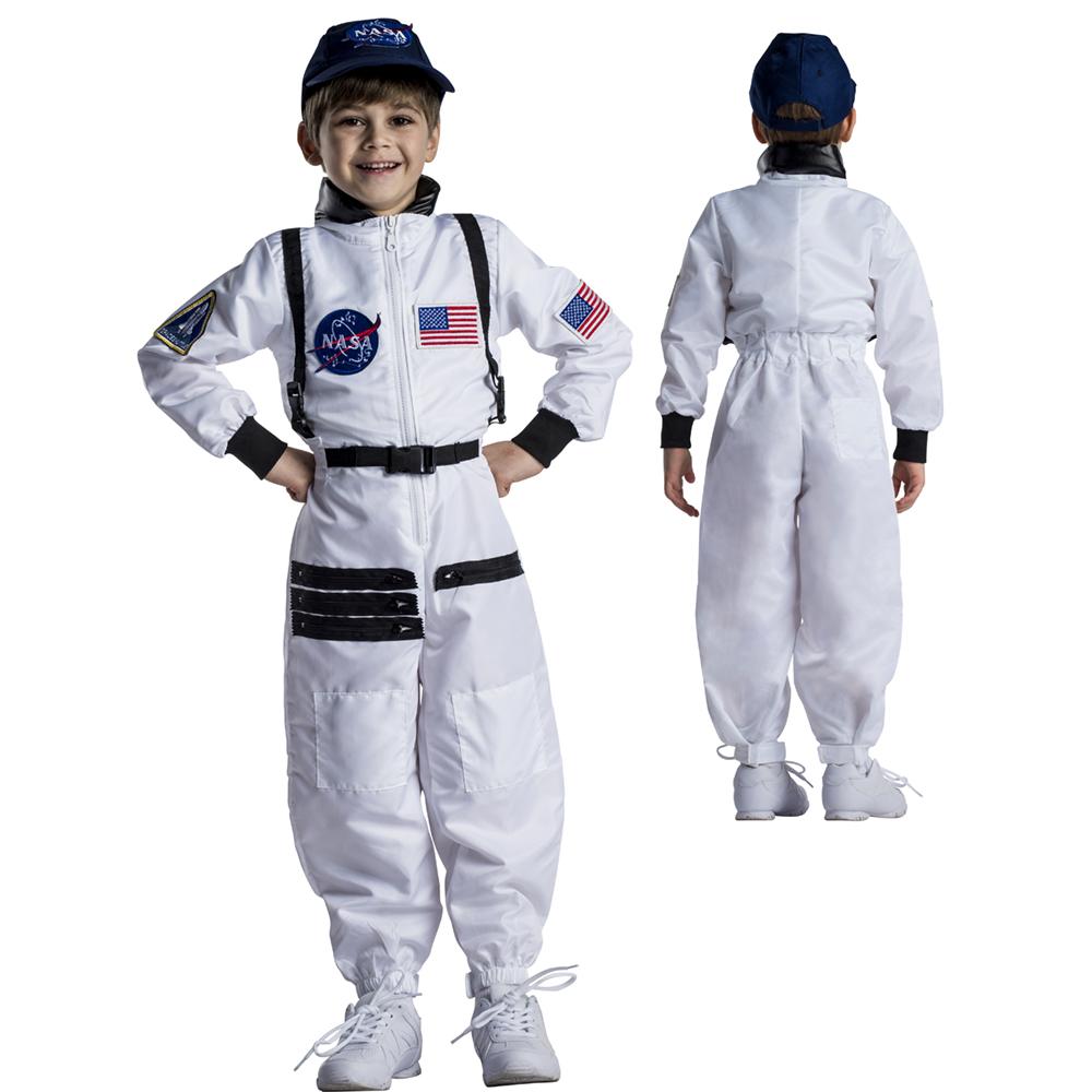 Details about Kids Astronaut Space Suit Halloween Costume