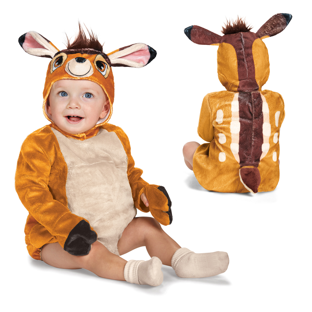 0908a081a Details about Infant Deluxe Bambi Deer Fawn Disney Costume