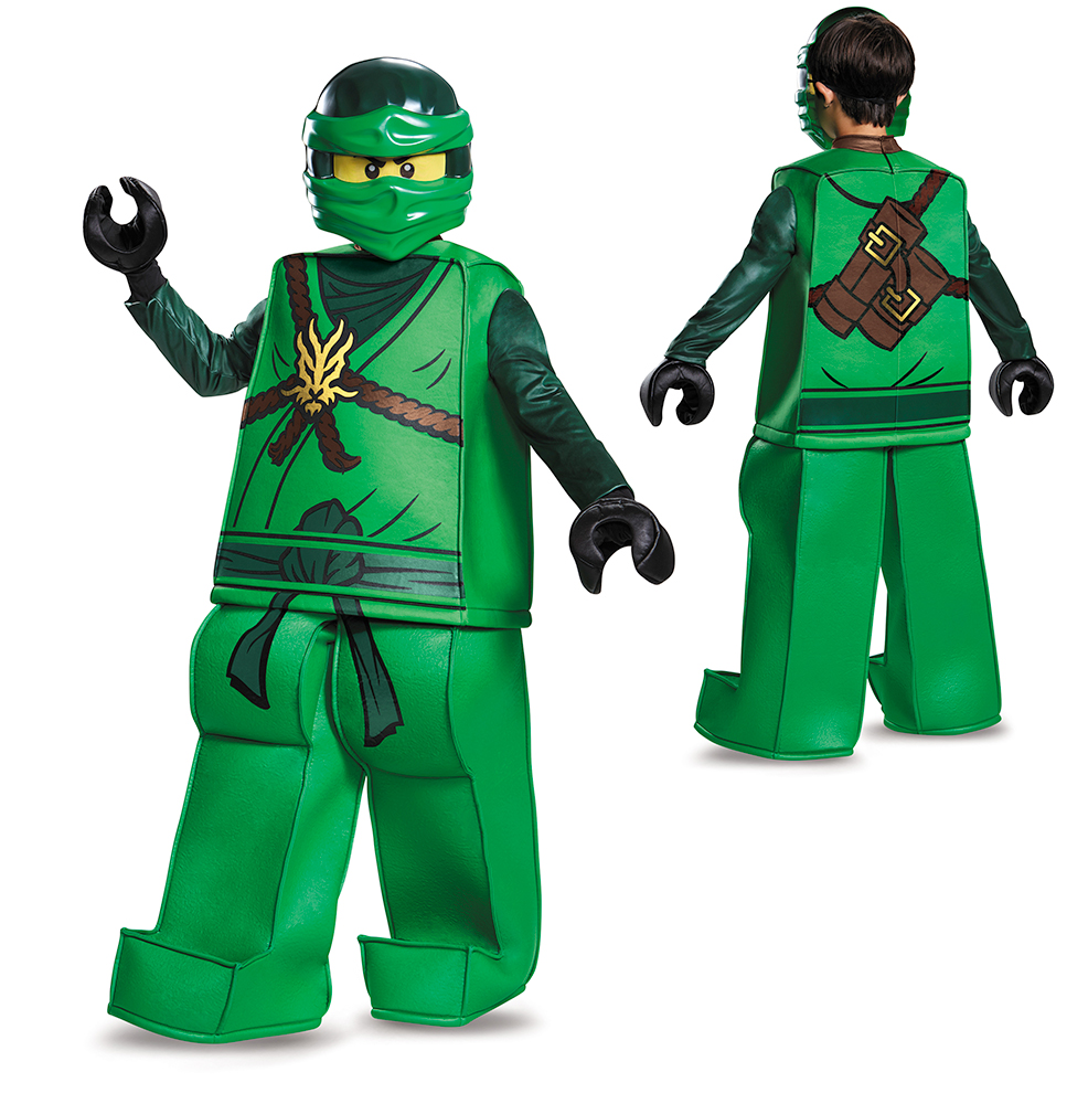 Boys LEGO Ninjago Prestige Lloyd Halloween Costume  sc 1 st  eBay : ninjago costume for kids  - Germanpascual.Com