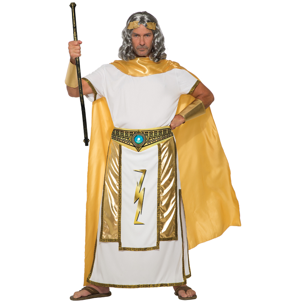 mens zeus greek mythology halloween costume | ebay