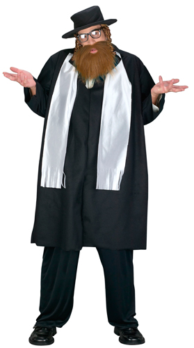 Details About Big U0026 Tall Rabbi Mens Halloween Costume