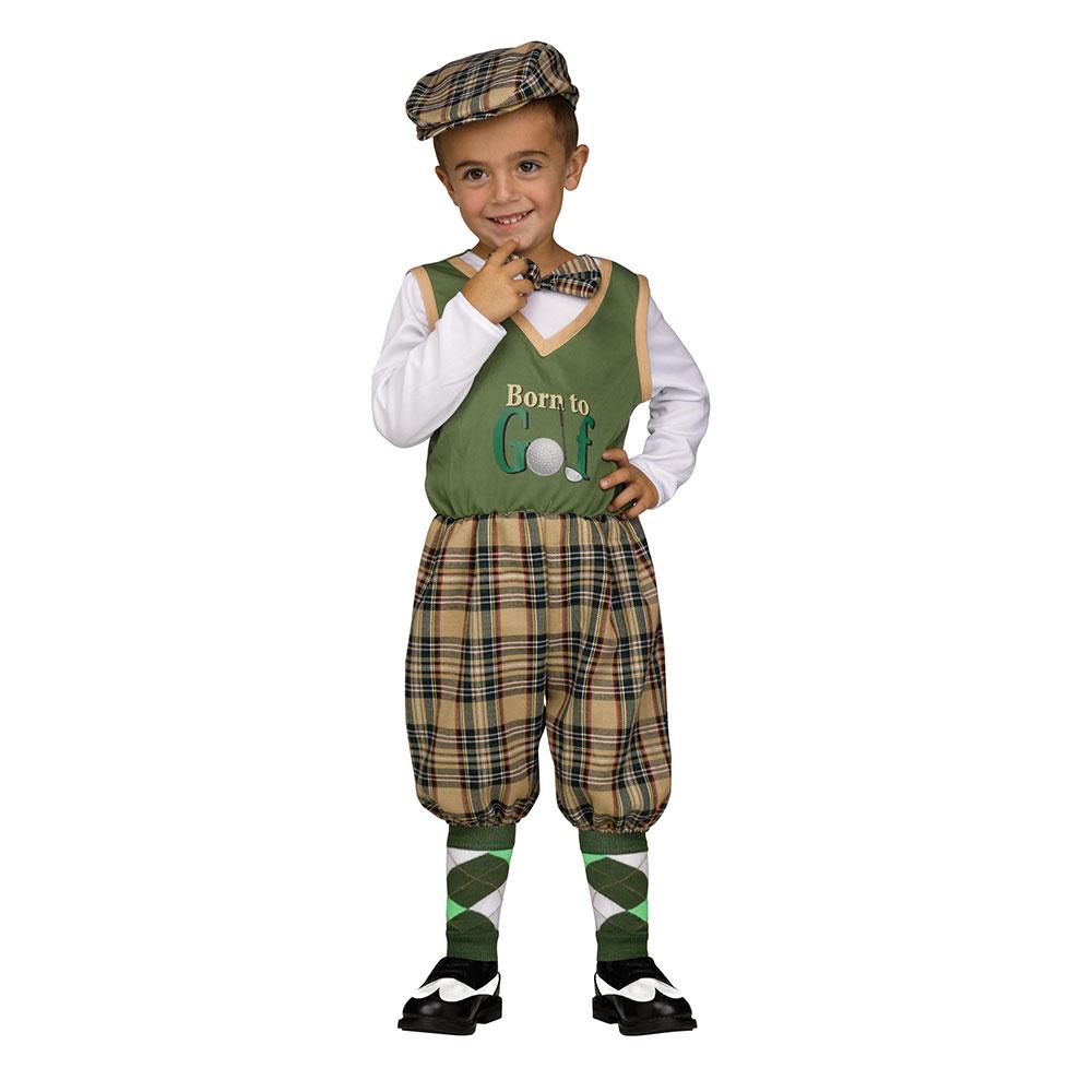 toddler retro li'l golfer halloween costume | ebay
