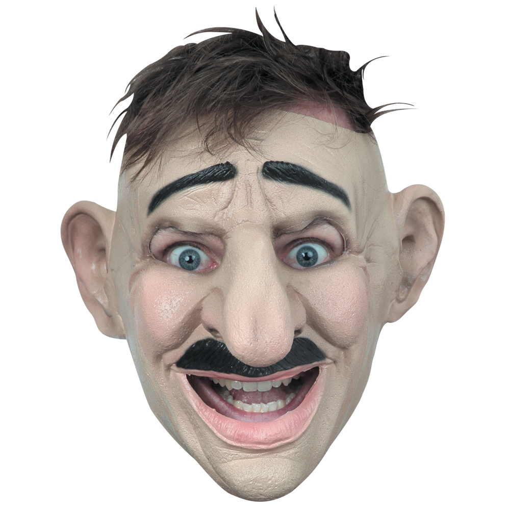 Details About Adult Customizable Hairstyle Big Nose Funny Mask