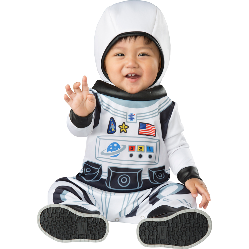 Baby Boys Astronaut Costume Space Suit Rompers Toddler Infant Halloween Costumes