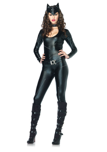 Womens Sexy Catwoman Adult Cat Halloween Costume  sc 1 st  eBay & Womens Sexy Catwoman Adult Cat Halloween Costume | eBay
