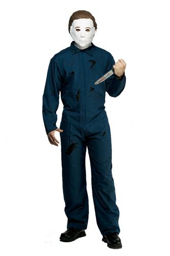 Adult Michael Myers Jumpsuit Halloween Costume Ebay