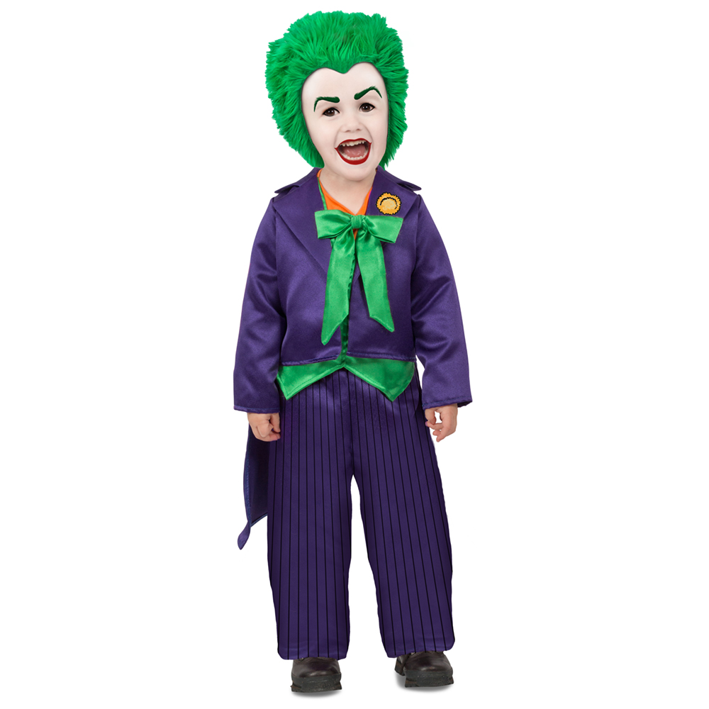 toddler the joker dc comics halloween costume | ebay