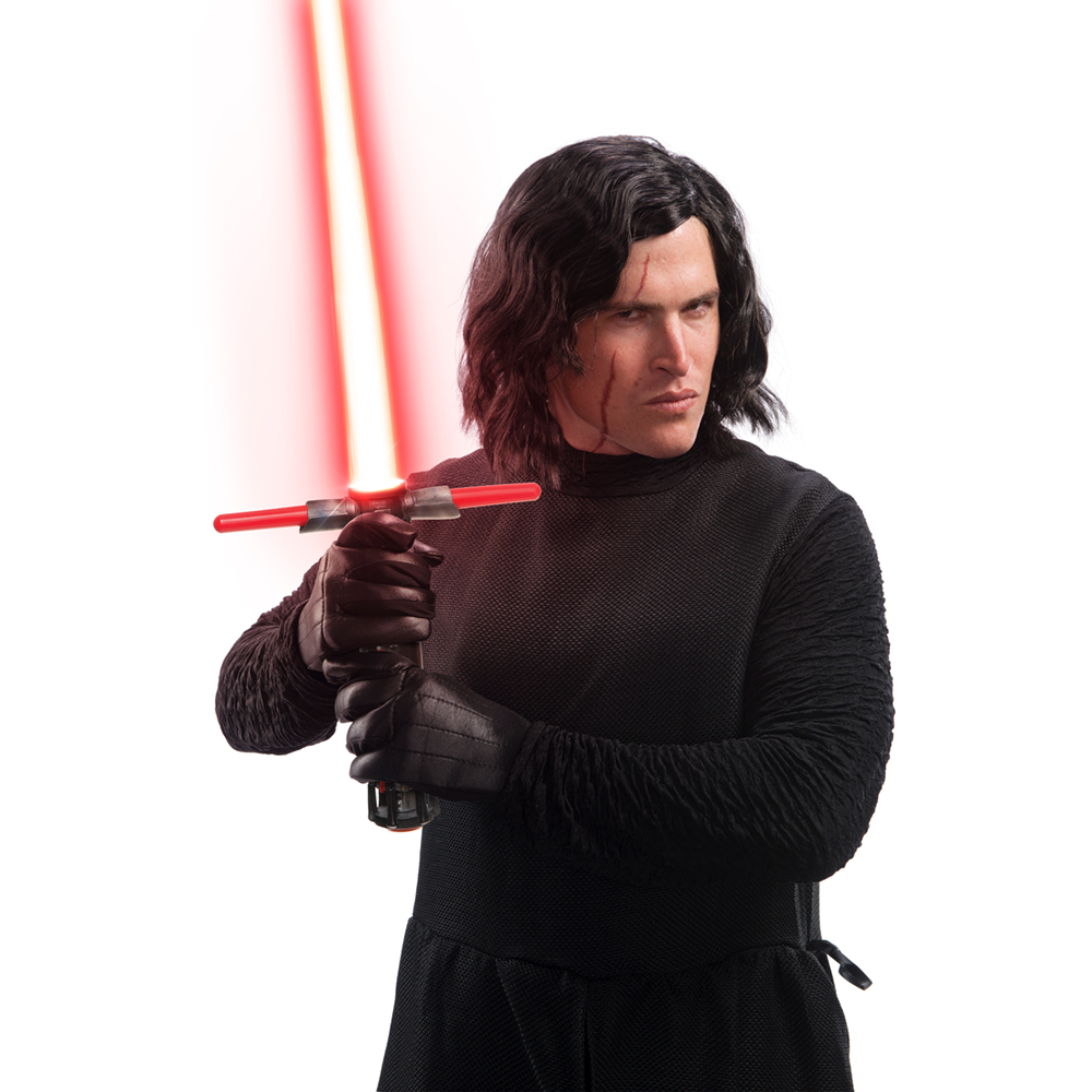 Mens Kylo Ren Star Wars The Last Jedi Costume Wig 82686344609 Ebay