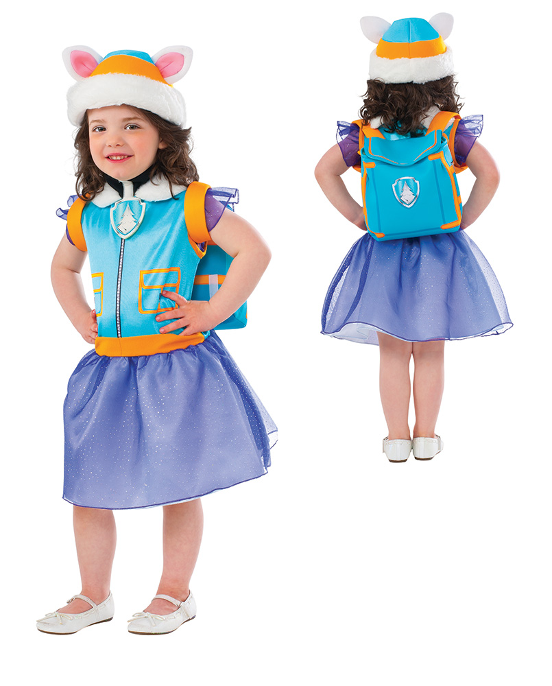 NWT Nickelodeon Paw Patrol Everest NO Sounds Toddler Halloween Costume RRP $25