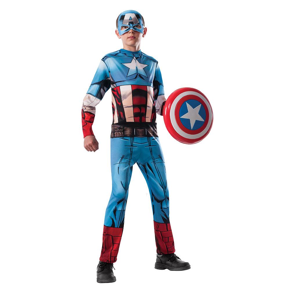 boys avengers captain america halloween costume | ebay
