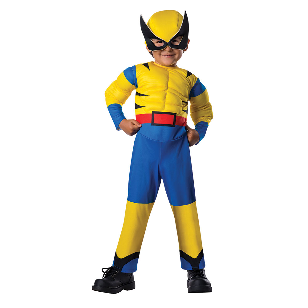 Details about Toddler Little Wolverine Halloween Costume Size 2T-4T