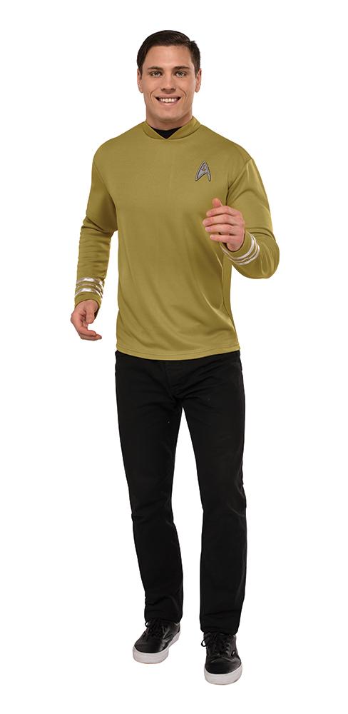 Mens Deluxe Captain Kirk Star Trek Beyond Costume