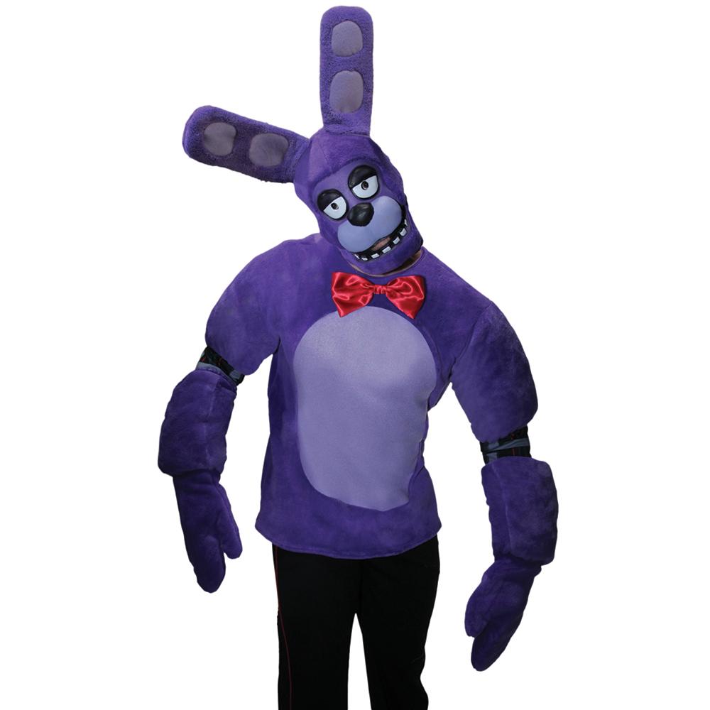 Bonnie Five Nights Freddy/'s Bunny Rabbit Fancy Dress Up Halloween Teen Costume