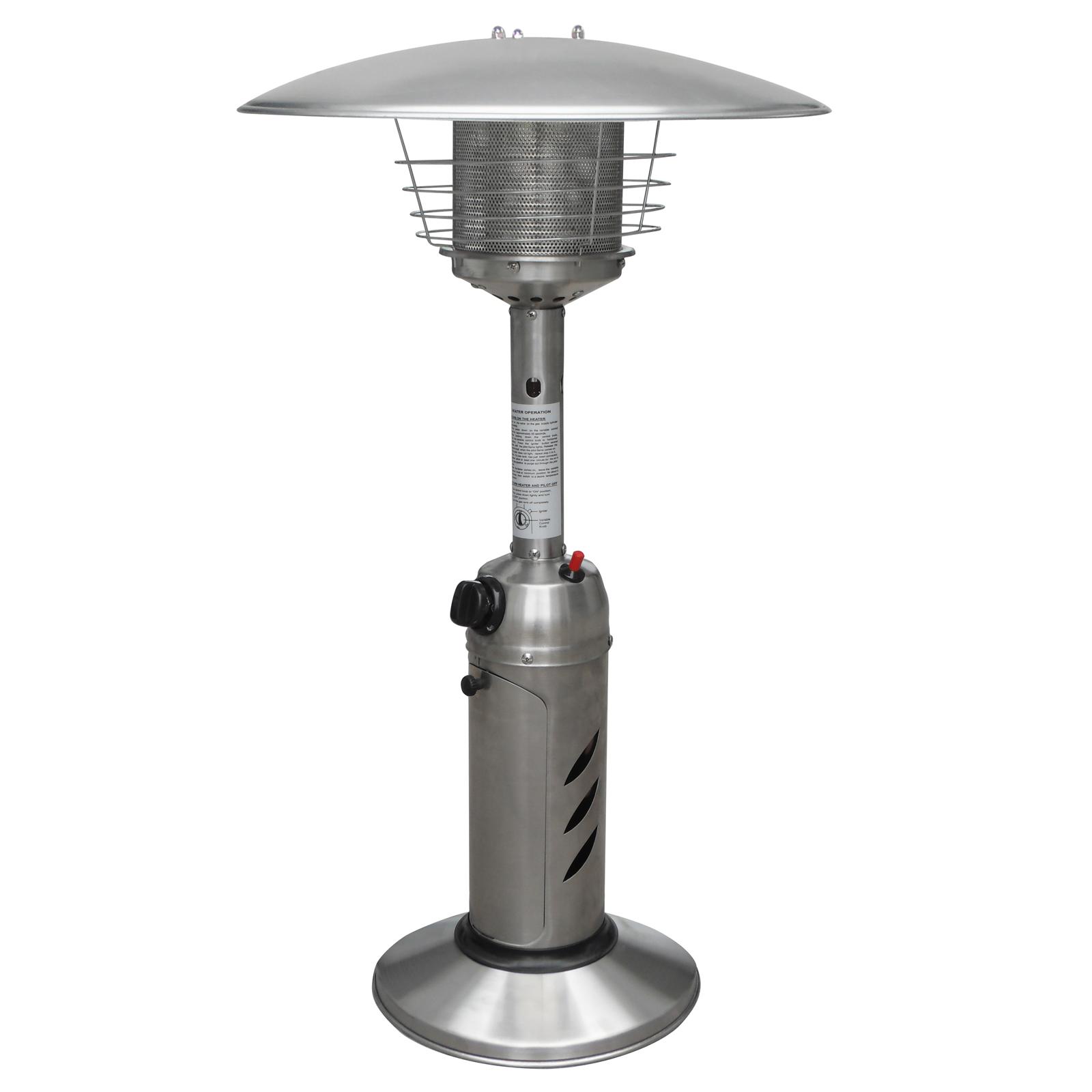 Stainless Steel Tabletop Outdoor Patio Heater Restaurant