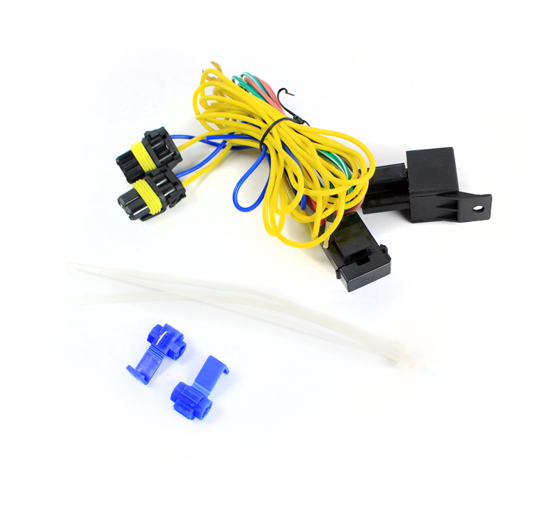 Fog Lights Lamps Wiring Harness Kit W  9006 Connector For