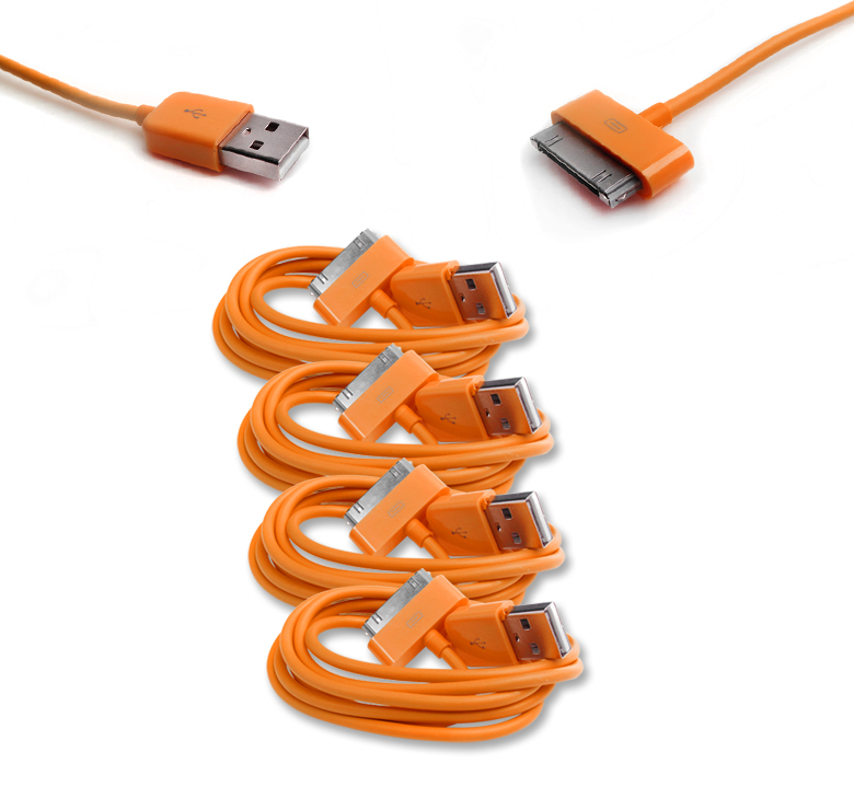 16X 6FT USB SYNC DATA POWER CHARGER CABLE IPHONE 4S IPOD TOUCH CLASSIC NANO IPAD