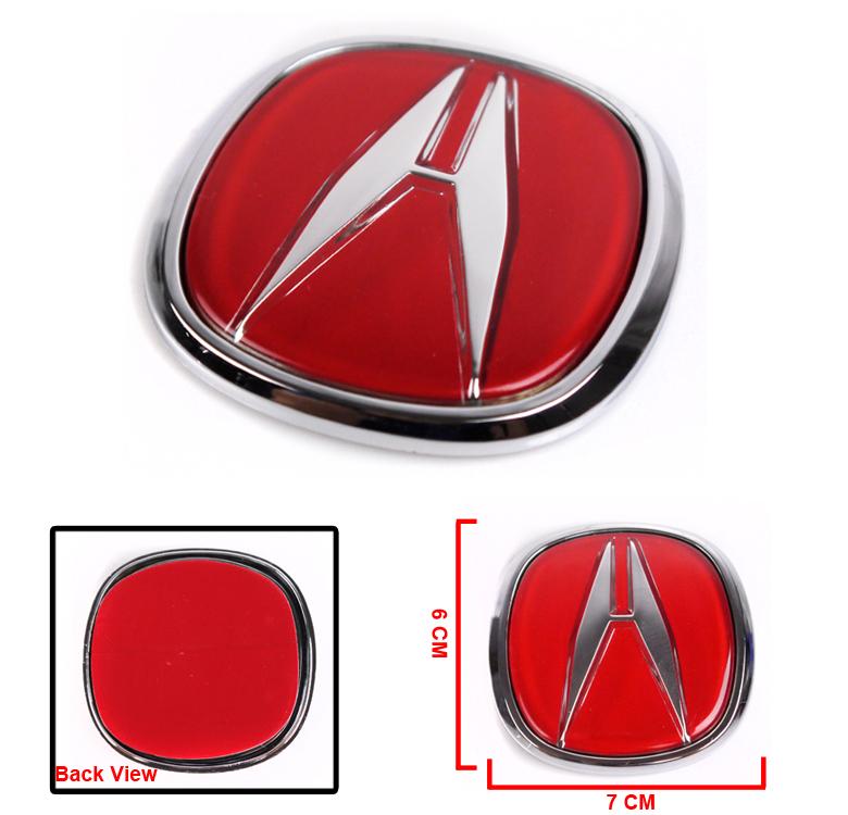 FOR ACURA BADGE EMBLEM RSX LEGEND INTEGRA CL TL TSX DC DC SPORT - Acura emblem