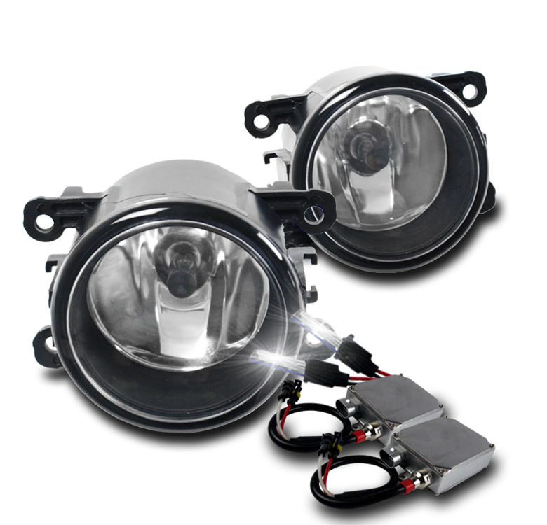 FRONT BUMPER FOG LIGHT CHROME +50W 8000K HID FOR ACURA