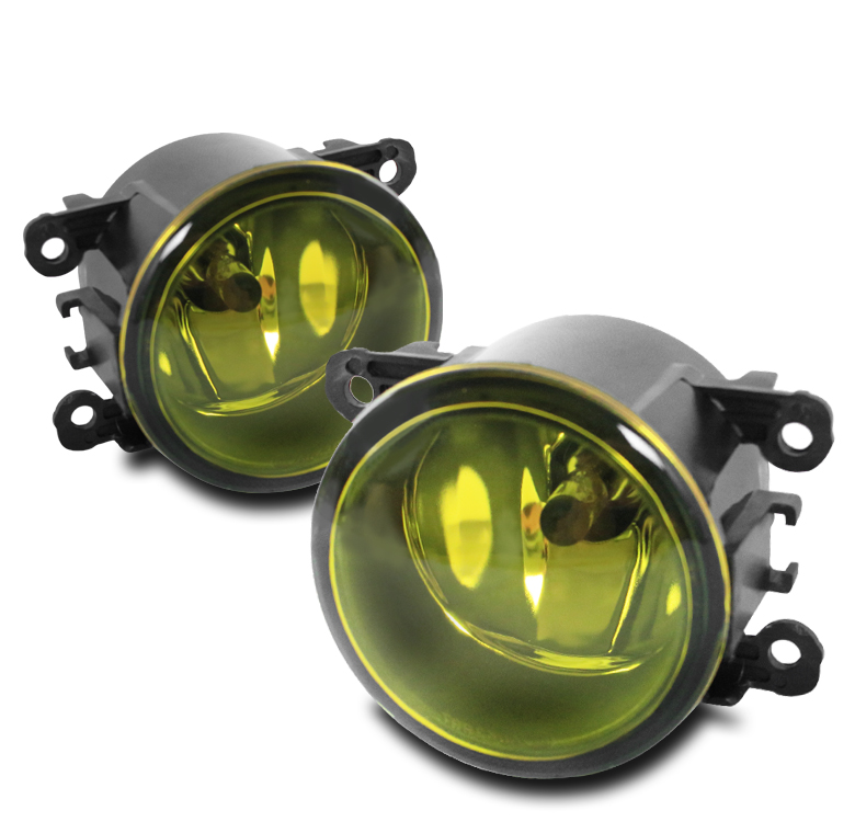 FRONT BUMPER FOG LIGHT YELLOW FOR ACURA FORD HONDA JAGUAR