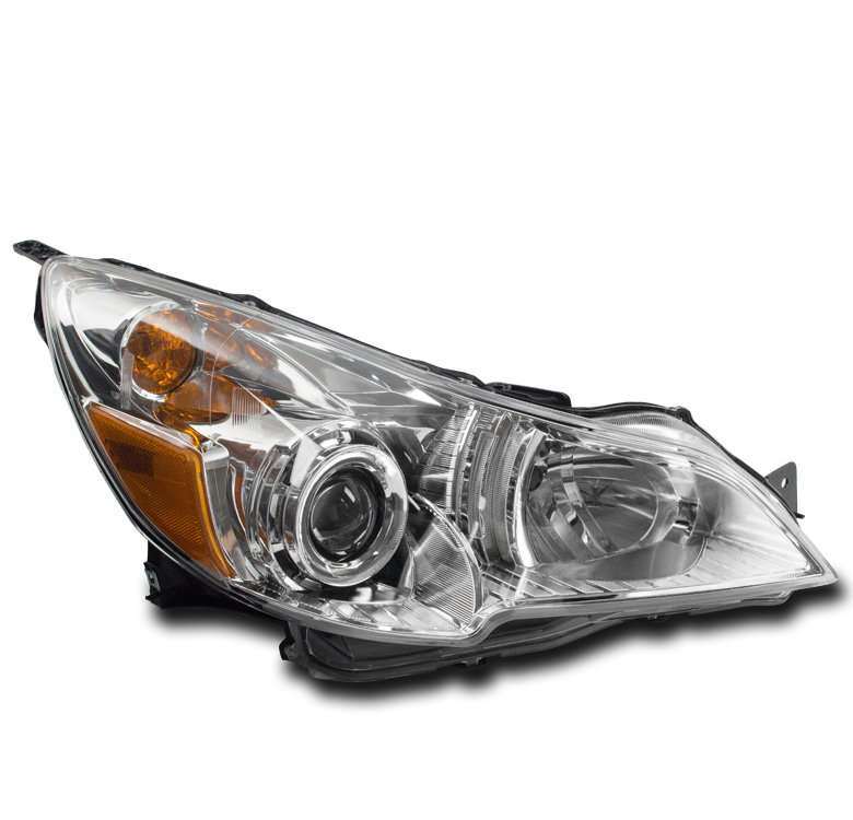 Details About For 10 12 Subaru Legacy Outback Replacement Chrome Projector Headlight Passenger