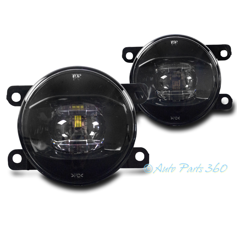BUMPER REPLACEMENT LED FOG LIGHT LAMP CHROME FOR ACURA