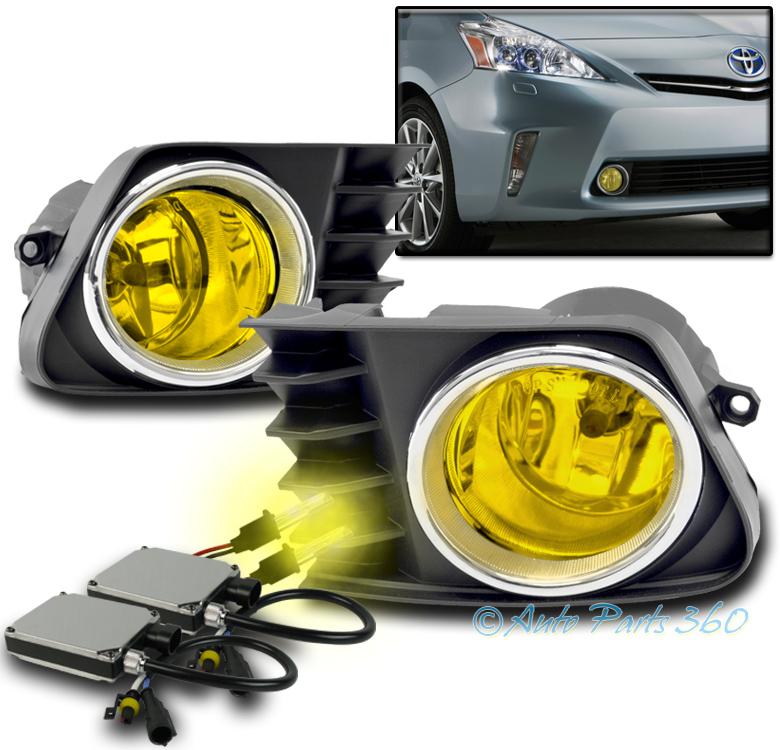 Car & Truck Lighting & Lamps 2012 2013 2014 TOYOTA PRIUS V ...