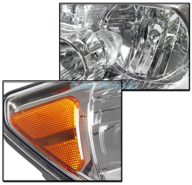 07 Amber Headlights Lamp W