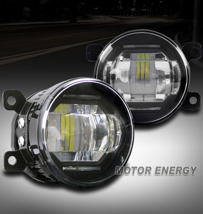 LED BUMPER FOG LIGHT LAMP CHROME FOR RDX MUSTANG CR-V