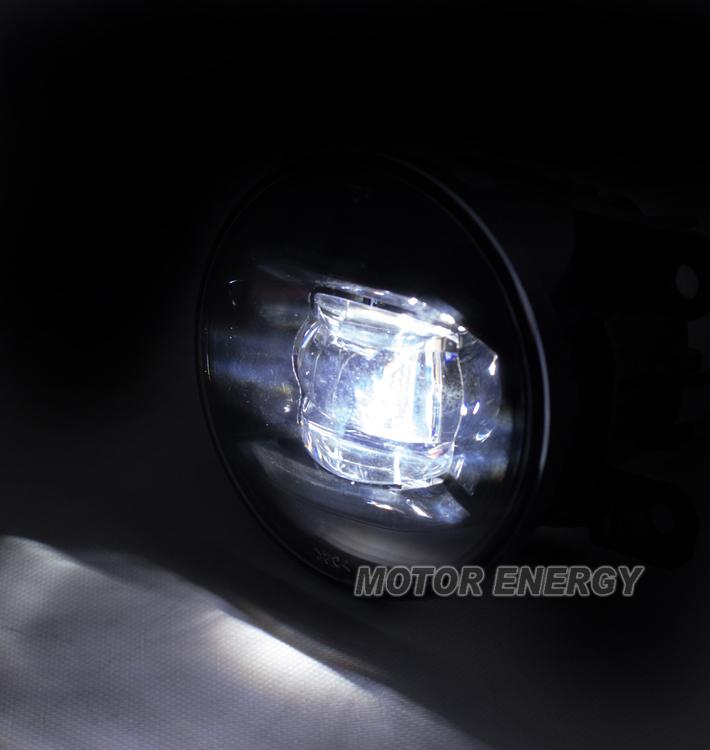 BUMPER DRIVING LED FOG LIGHT CHROME FOR RDX MUSTANG CR-V