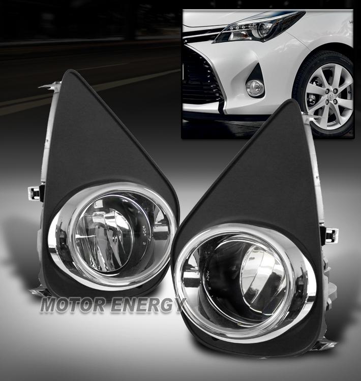 Bumper Led Chrome Fog Lights Lamps Kit W  Switch For 15